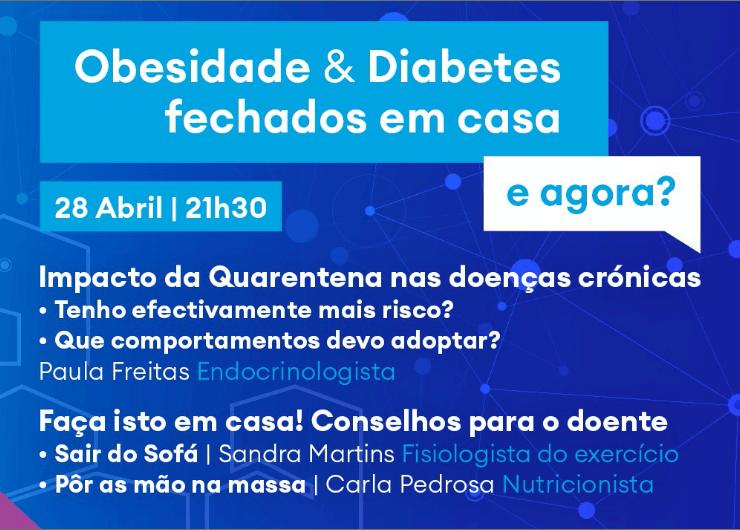 Webinar sobre Obesidade & Diabetes em tempos de Covid-19